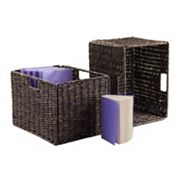 Winsome Granville 2 pc Storage Basket Set