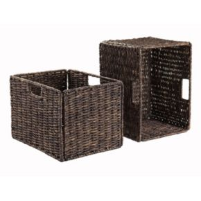 Winsome Granville 2-piece Storage Basket Set