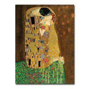 """The Kiss"" Canvas Wall Art by Gustav Klimt"