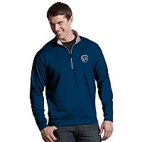 Men's Antigua Sporting Kansas City Leader 1/4-Zip Pullover