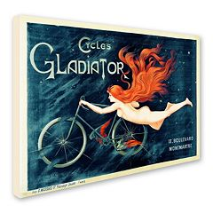 'Cycles Gladiator' Canvas Wall Art