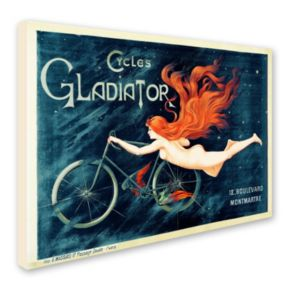 """Cycles Gladiator"" Canvas Wall Art"