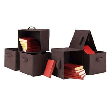 Winsome Capri 6-piece Storage Basket Set