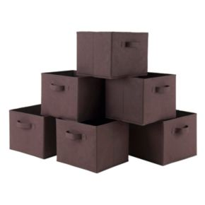 Winsome Capri 6-piece Storage Basket Set