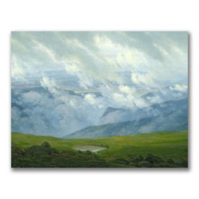 """Drifting Clouds"" Canvas Wall Art"