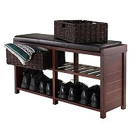 Winsome Colin Storage Bench