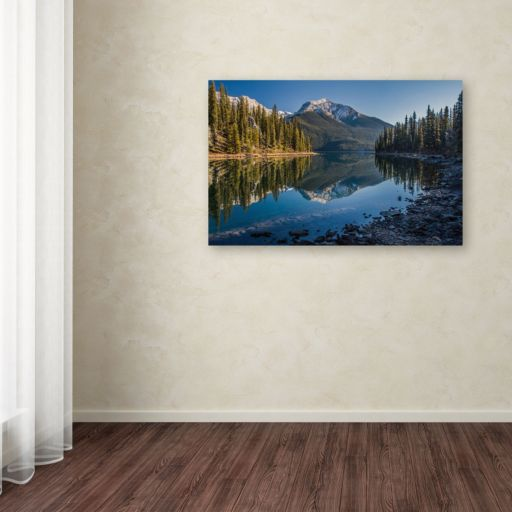 """Jasper Morning"" Canvas Wall Art"