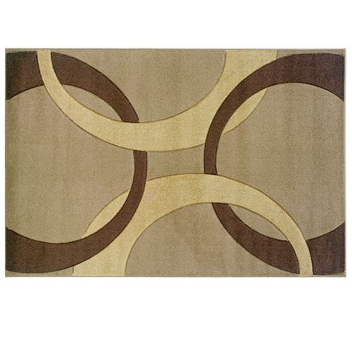 linon home decor corfu collection floral rug. Black Bedroom Furniture Sets. Home Design Ideas