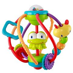 Bright Starts Clack & Slide Activity Ball