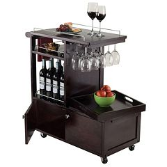 Winsome Galen Entertainment Wine Cart