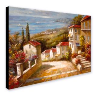 """""""Home in Tuscany"""" Canvas Wall Art"""