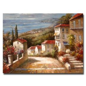 """Home in Tuscany"" Canvas Wall Art"