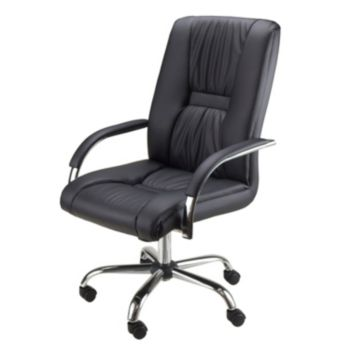 Winsome Florence Faux-Leather Executive Desk Chair