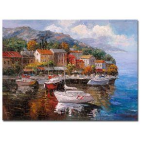 """""""At Sea"""" Canvas Wall Art"""