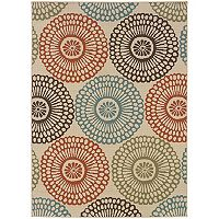 StyleHaven Montgomery Medallion Indoor Outdoor Rug