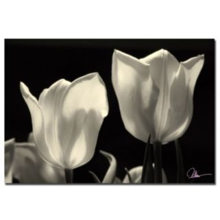 """Tulips"" Canvas Wall Art"