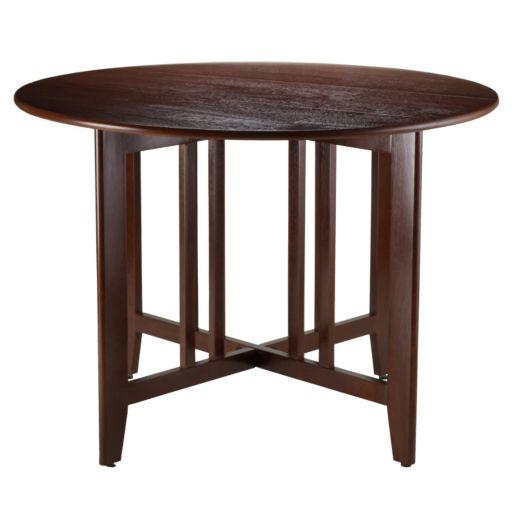 Winsome Alamo Drop-Leaf Dining Table