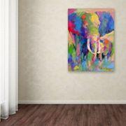 'Elephant 1' Canvas Wall Art