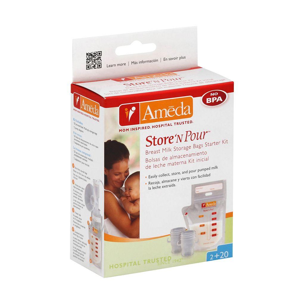 Ameda Store N' Pour Milk Storage Bag Set