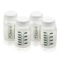 Ameda 4-pk. 4-oz. Breast Milk Storage Bottles