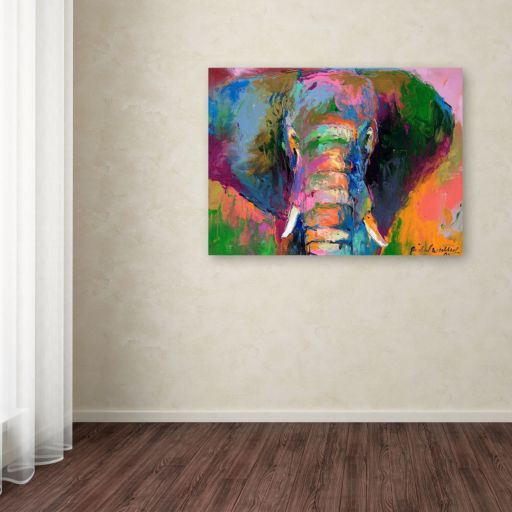 """Elephant 2"" Canvas Wall Art"