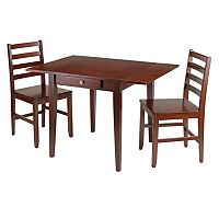 Winsome Hamilton 3-piece Dining Set