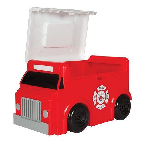 Play-Doh Fire Truck Storage
