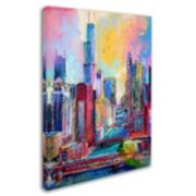 """""""Chicago 3"""" Canvas Wall Art"""