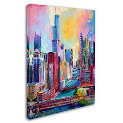 'Chicago 3' Canvas Wall Art