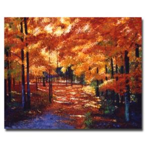 """Magical Forest"" Canvas Wall Art"