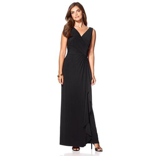 Women's Chaps Sleeveless Evening Dress