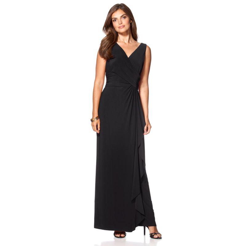Luxury Chaps Paisley Watercolor Sateen Dress  Women39s