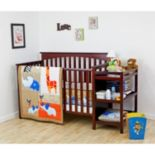 Dream On Me 2 pc Jungle Babies Crib Bedding Set