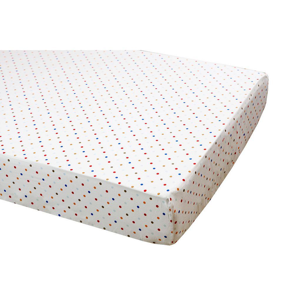 Dream On Me 2-pc. Jungle Babies Crib Bedding Set