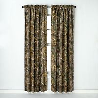 Realtree Window Curtain Pair - 40'' x 63''