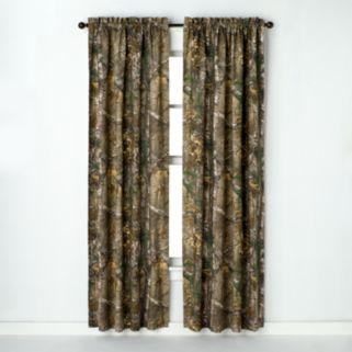 Realtree Window Curtain Pair - 40'' x 63''