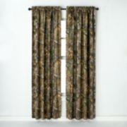 Realtree Window Curtain Pair - 40'' x 84''