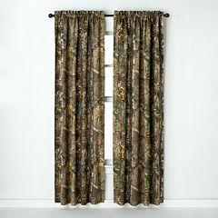 Realtree Window Curtain Pair - 40'' x 84''