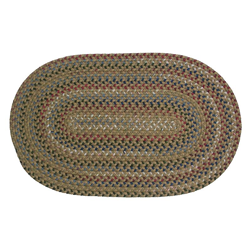 Colonial Mills Cape Beth Braided Rug, Brown, 9X12 Ft Product Image