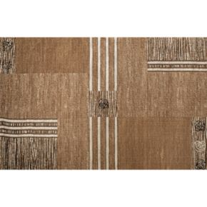 Quicksilver Pathways Abstract Rug