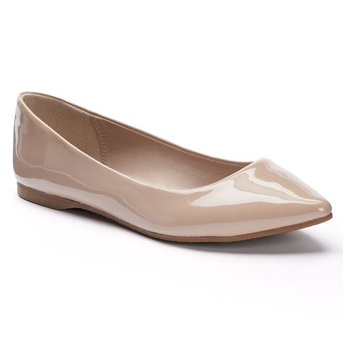 SO® Women's Pointed-Toe Flats