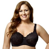 Elila Bra: Lace Full-Figure Bra 2311