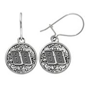 Insignia Collection NASCAR Dale Earnhardt Jr. Stainless Steel '88' Drop Earrings