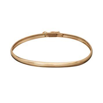 14k Gold Bangle Bracelet - Kids