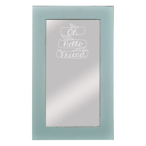Belle Maison ''Oh Hello Friend'' Wall Mirror