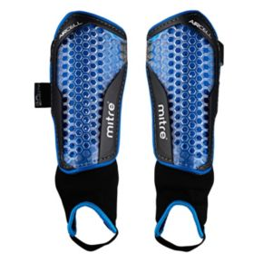Mitre Aircell Power Soccer Shin Guards - Junior