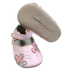 Tommy Tickle Floral Mary Jane Shoes - Baby