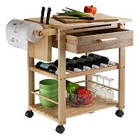 Winsome Finland Kitchen Cart