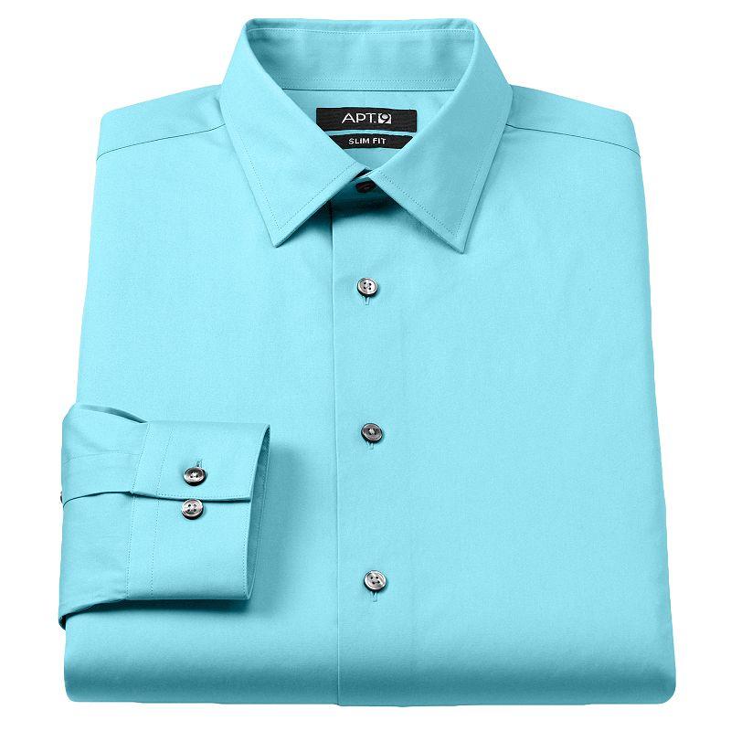 Imported cotton dress shirt kohl 39 s for Apartment 9 dress shirts