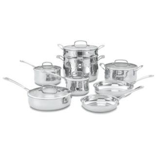 Cuisinart 13-pc. Contour Stainless Steel Cookware Set